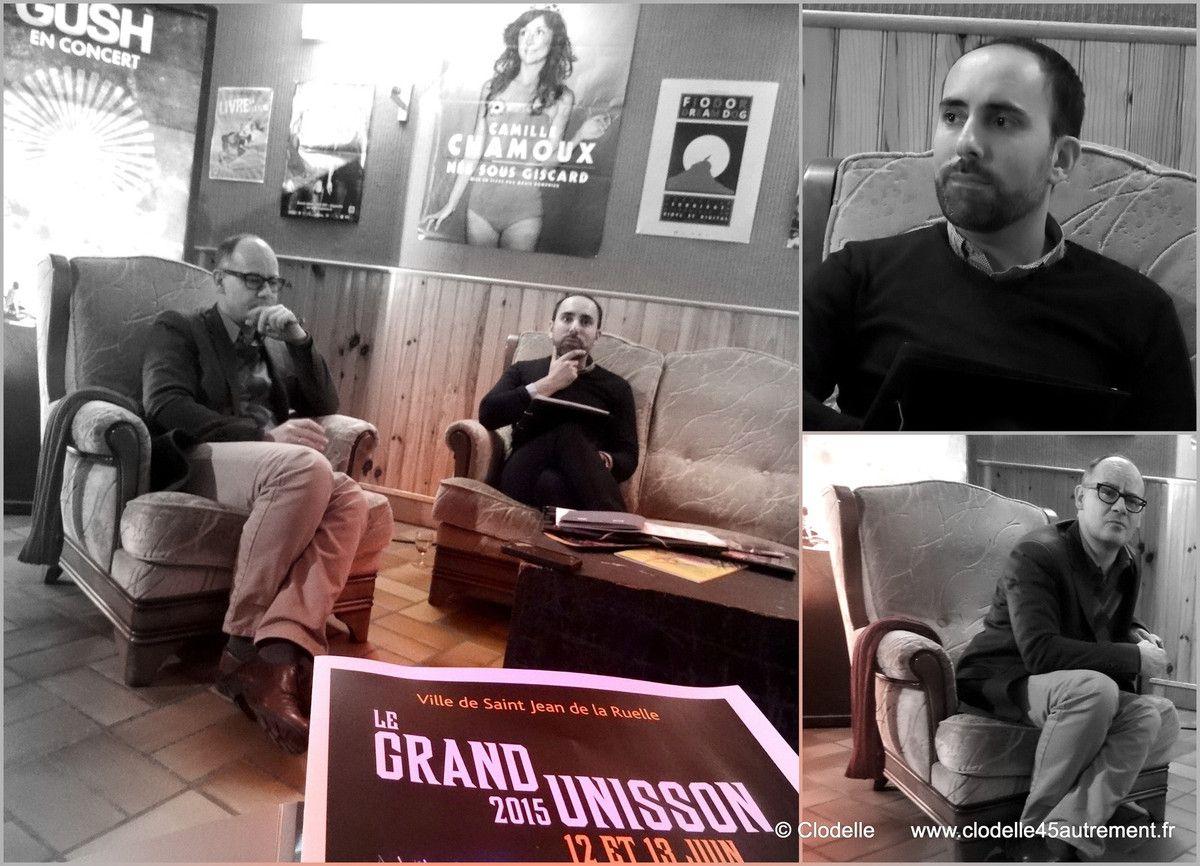 - GRAND UNISSON 12 et 13 juin 2015 : les GROUPES/ARTISTES TÊTES D'AFFICHE dévoilées par Ludovic Deschamps et Frédéric Sallé