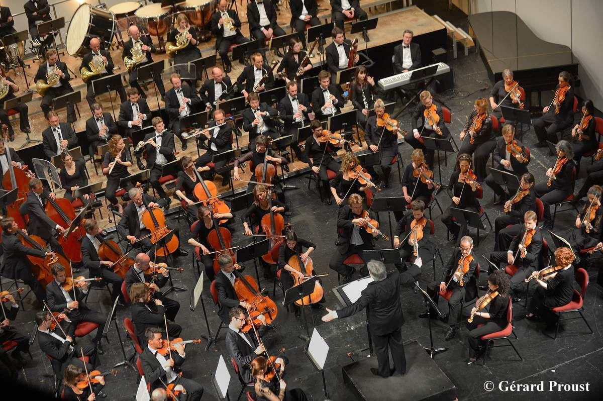 CONCERT DE l'ORCHESTRE SYMPHONIQUE Région Centre-Val de Loire/Tours au Théâtre municipal de SARAN le 18 novembre