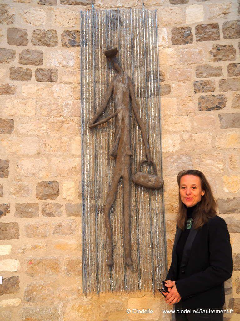 """""""Communes différences – Comme une différence"""" : Quatre peintres, trois sculpteurs s'exposent à la  Collégiale St-Pierre-Le-Puellier jusqu'au 20 novembre 2016"""
