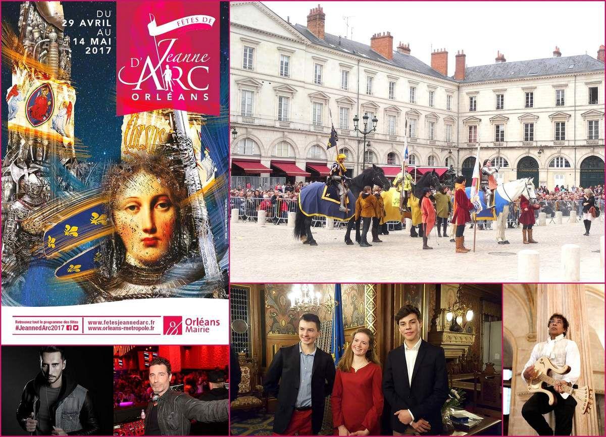 FÊTE DE JEANNE D'ARC du 29 avril au 14 mai 2017: un programme diversifié incluant un concert gratuit  de Laurent Voulzy