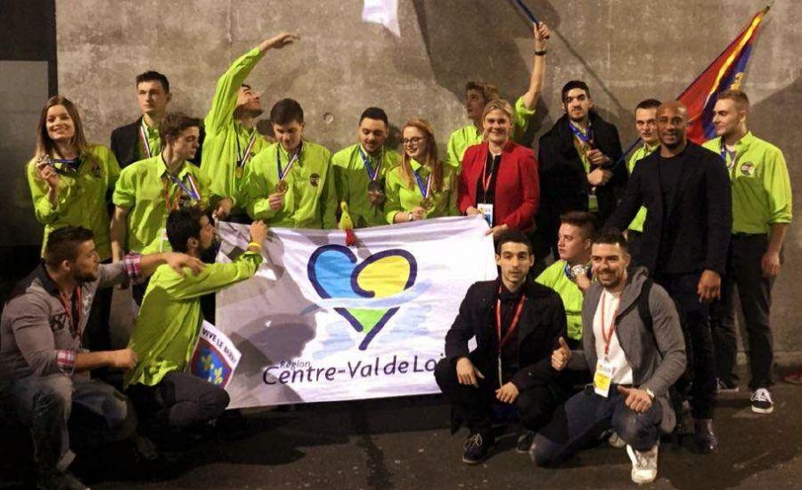 92d9f15629bb63 OLYMPIADES DES METIERS - Compétition nationale  24 médailles pour les  jeunes de la REGION CENTRE VAL DE LOIRE