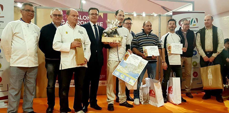 CONCOURS des meilleures Baguettes et du Meilleur Croissant au beurre du LOIRET : les lauréats 2019 sont…
