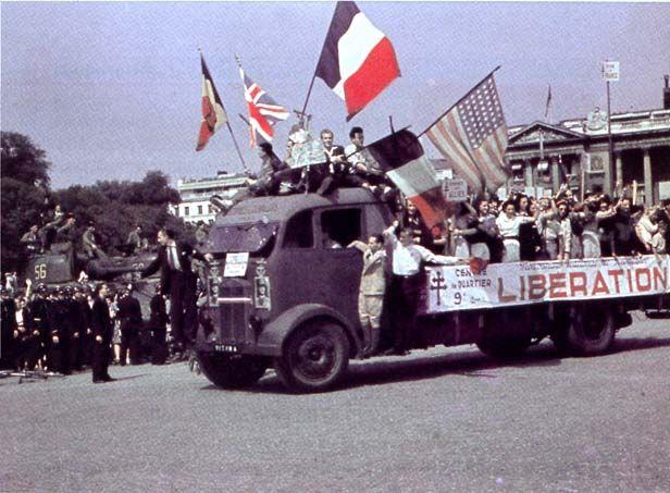 L'occupation allemande, la Résistance...la Libération!