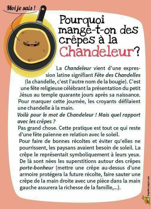 C'est la Chandeleur!