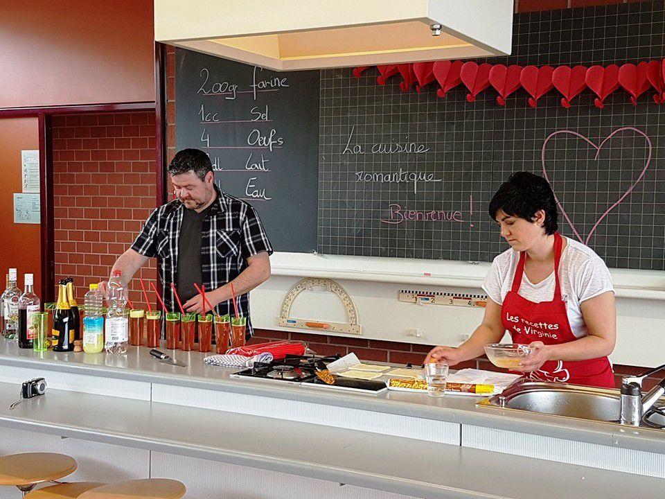 """Photos du cours """"La cuisine romantique"""""""
