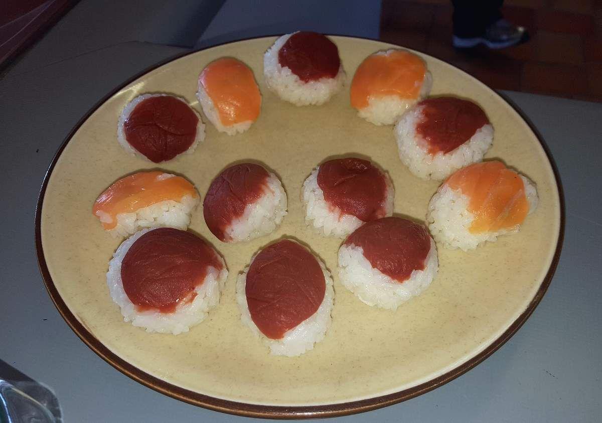 Photos du cours de cuisine japonaise