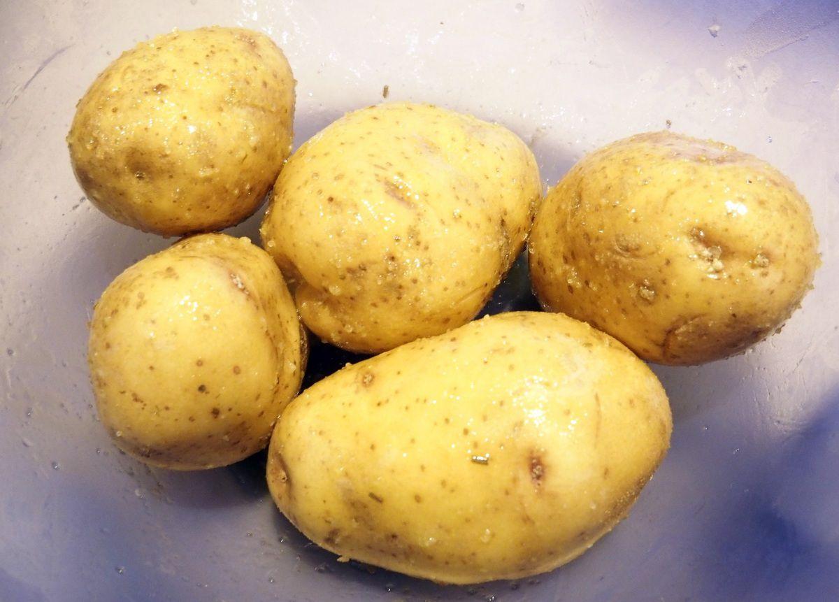 Duo de pommes de terre au four