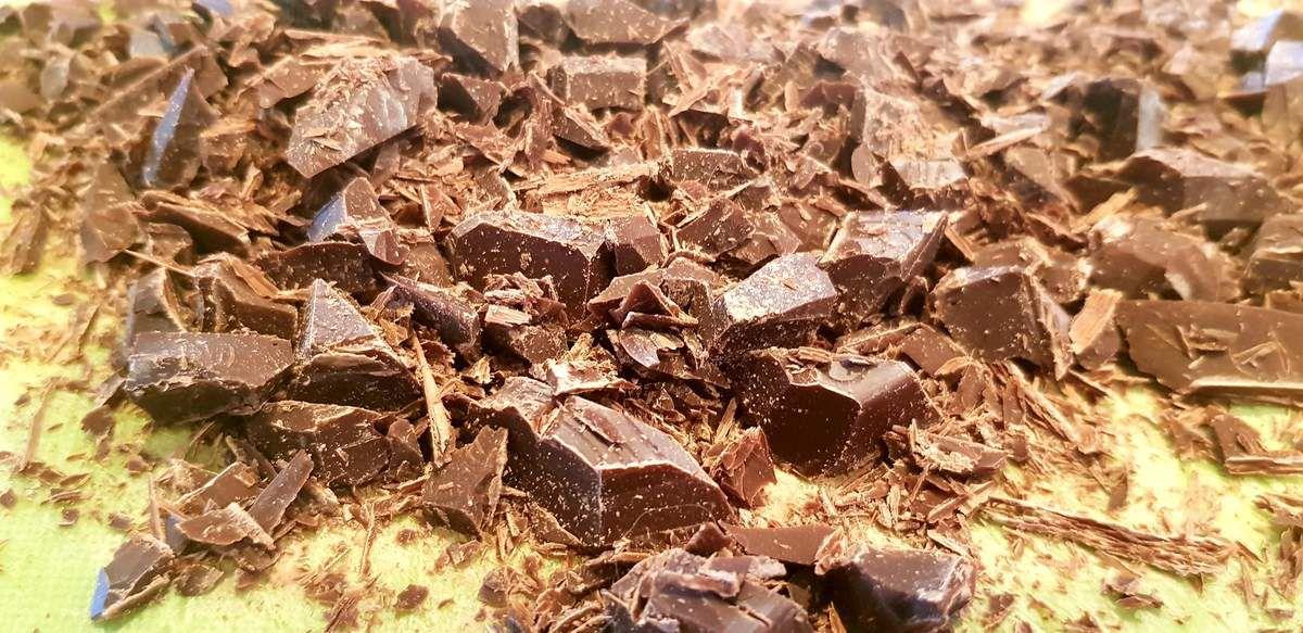 Galette aux poires et au chocolat