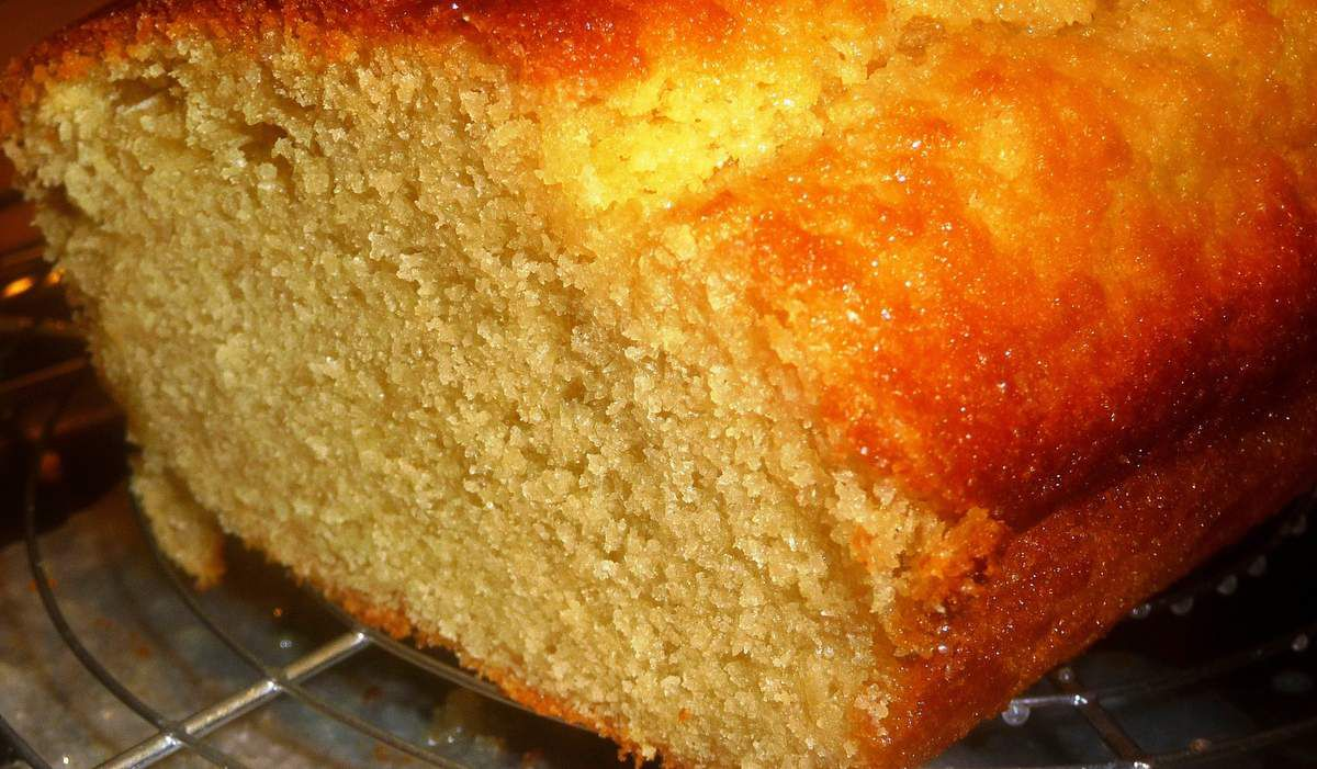 Cake à la vanille, léger et moelleux