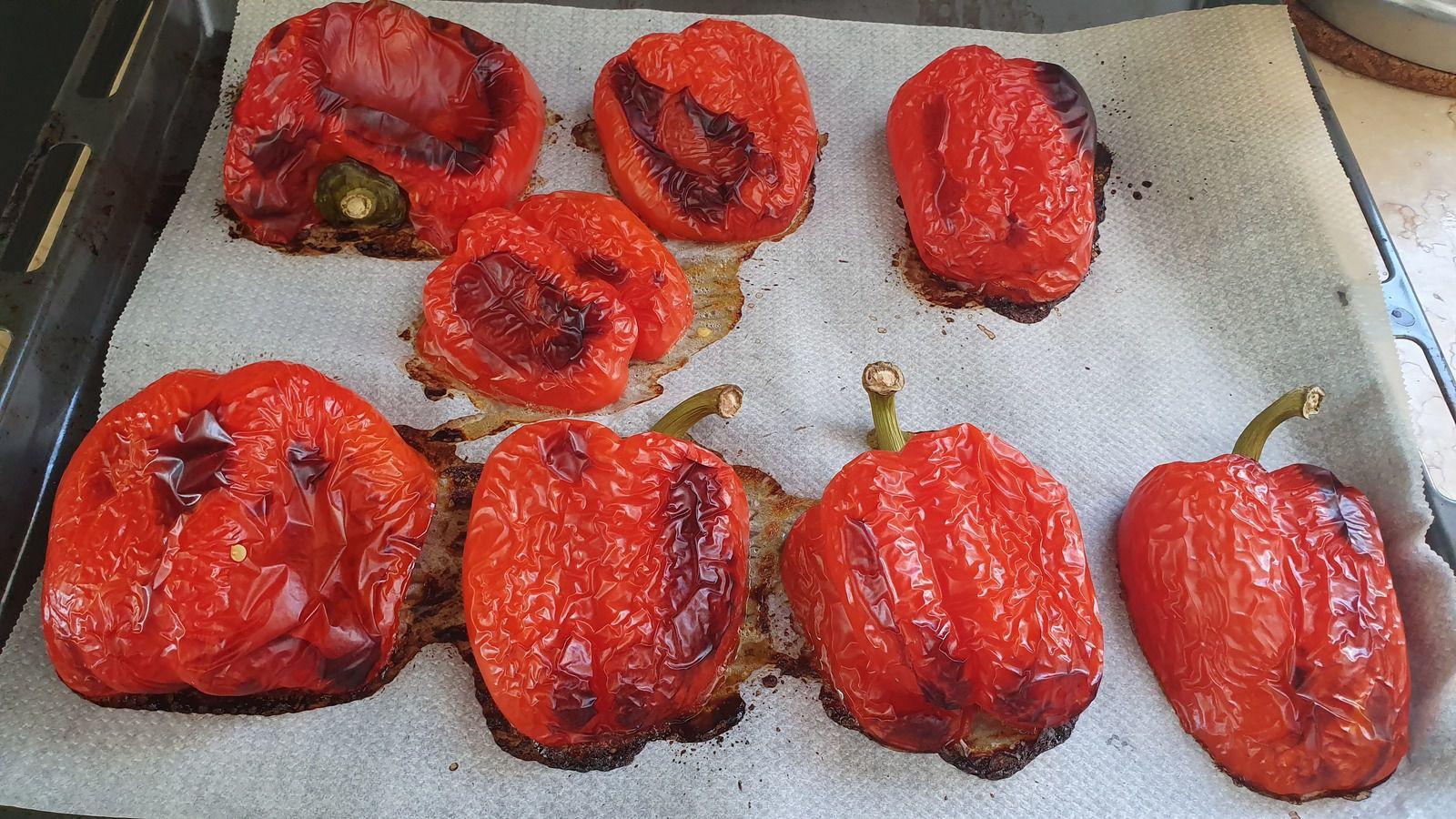 Purée de poivrons aux noix