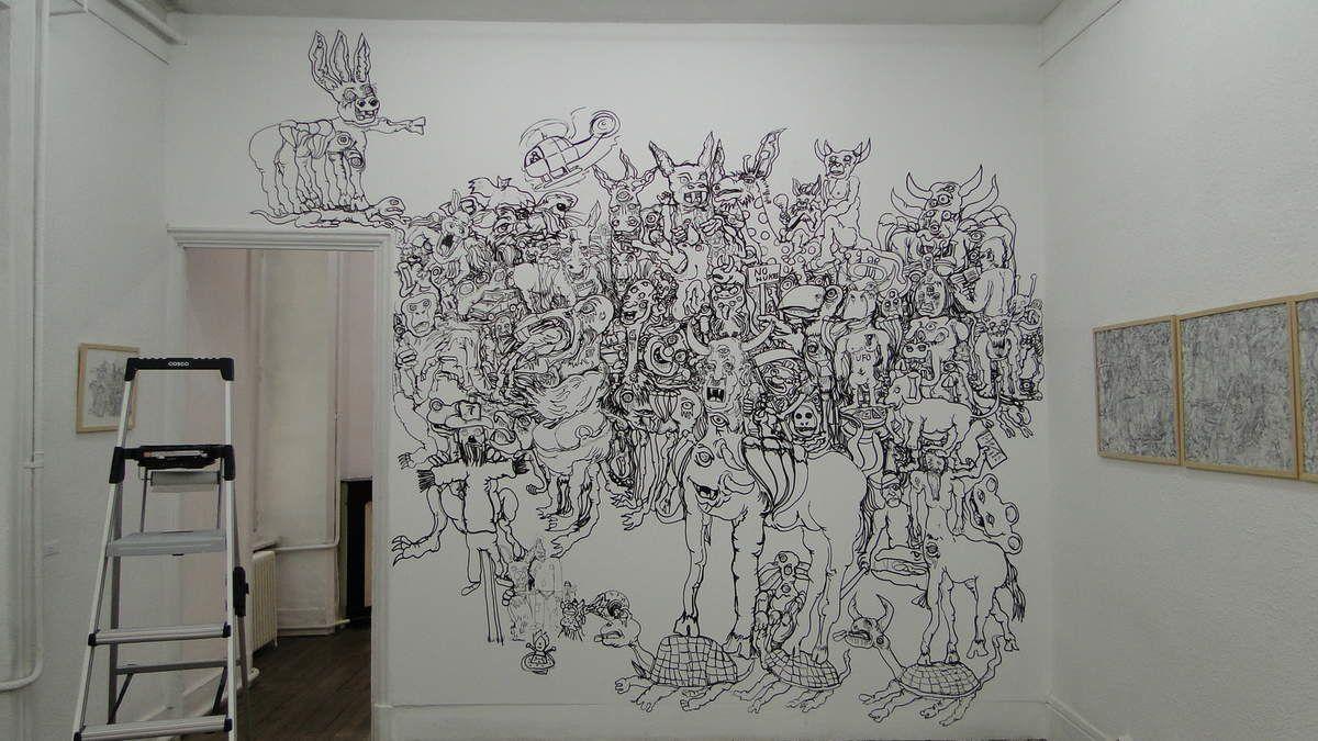 Réalisation d'une fresque, de A à Z