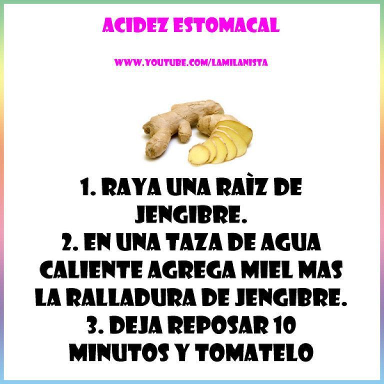 Acidez estomacal