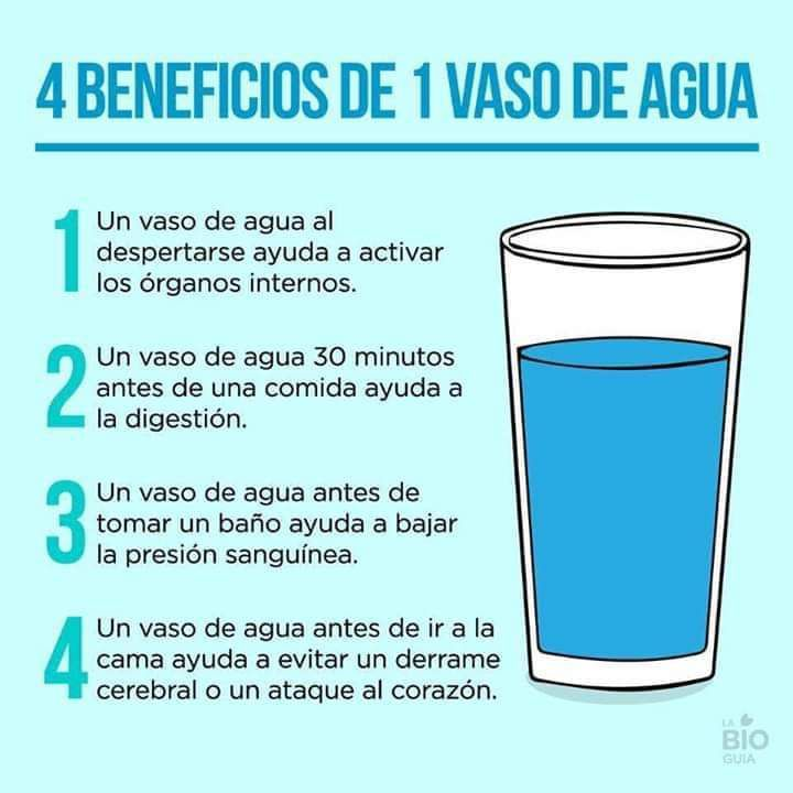 El porque es importante tomar agua