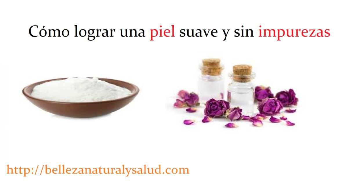 Limpiador natural para una piel suave