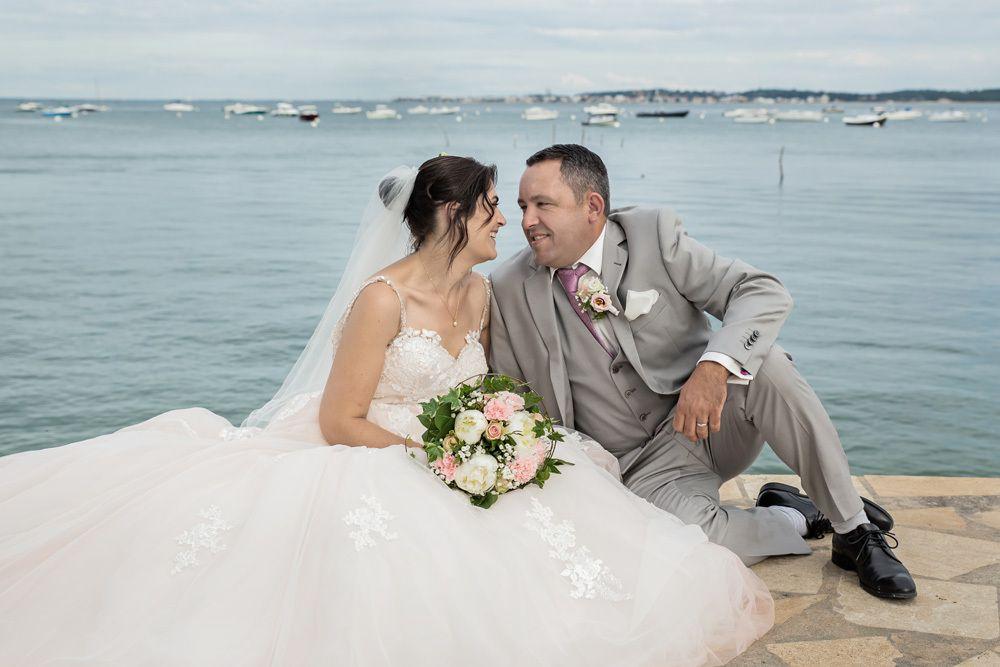 Séance photo couple / après mariage du 19/06/19, photographe Cap-Ferret / Andernos / Saint-Jean-d' Illac