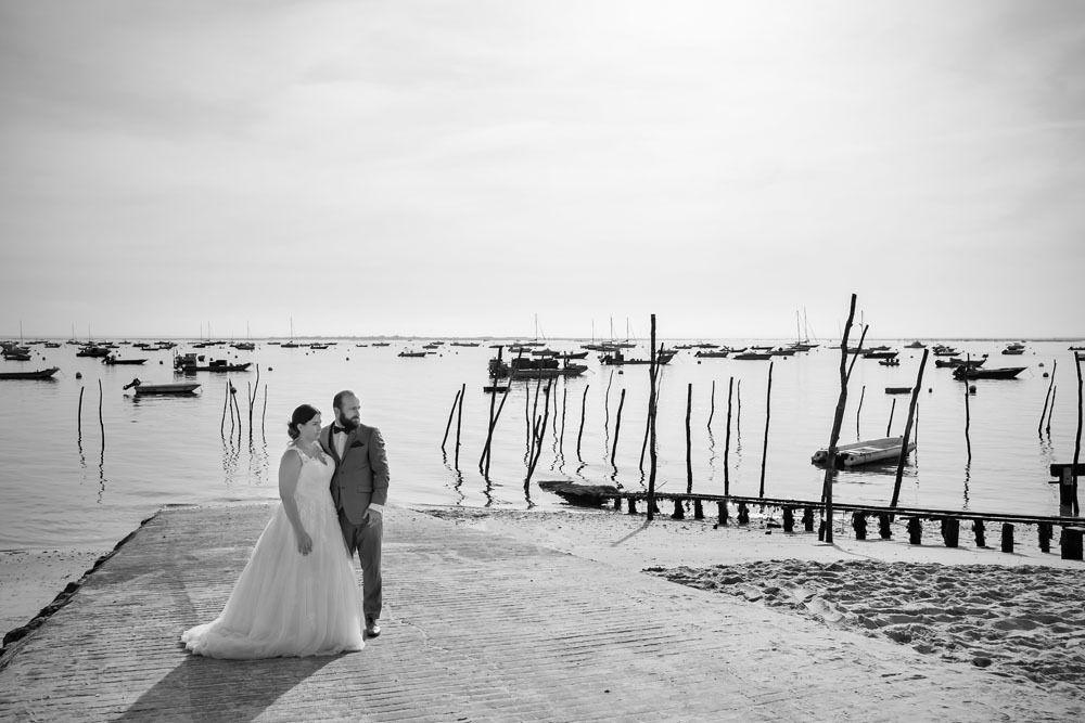 Séance photo couple / après mariage du 26/08/19, photographe Cap-Ferret