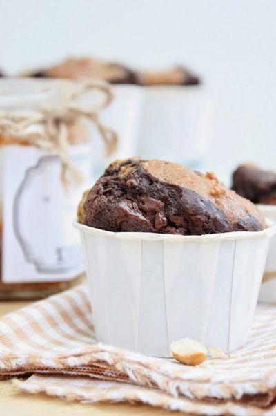 Muffins au chocolat et noix de cajou