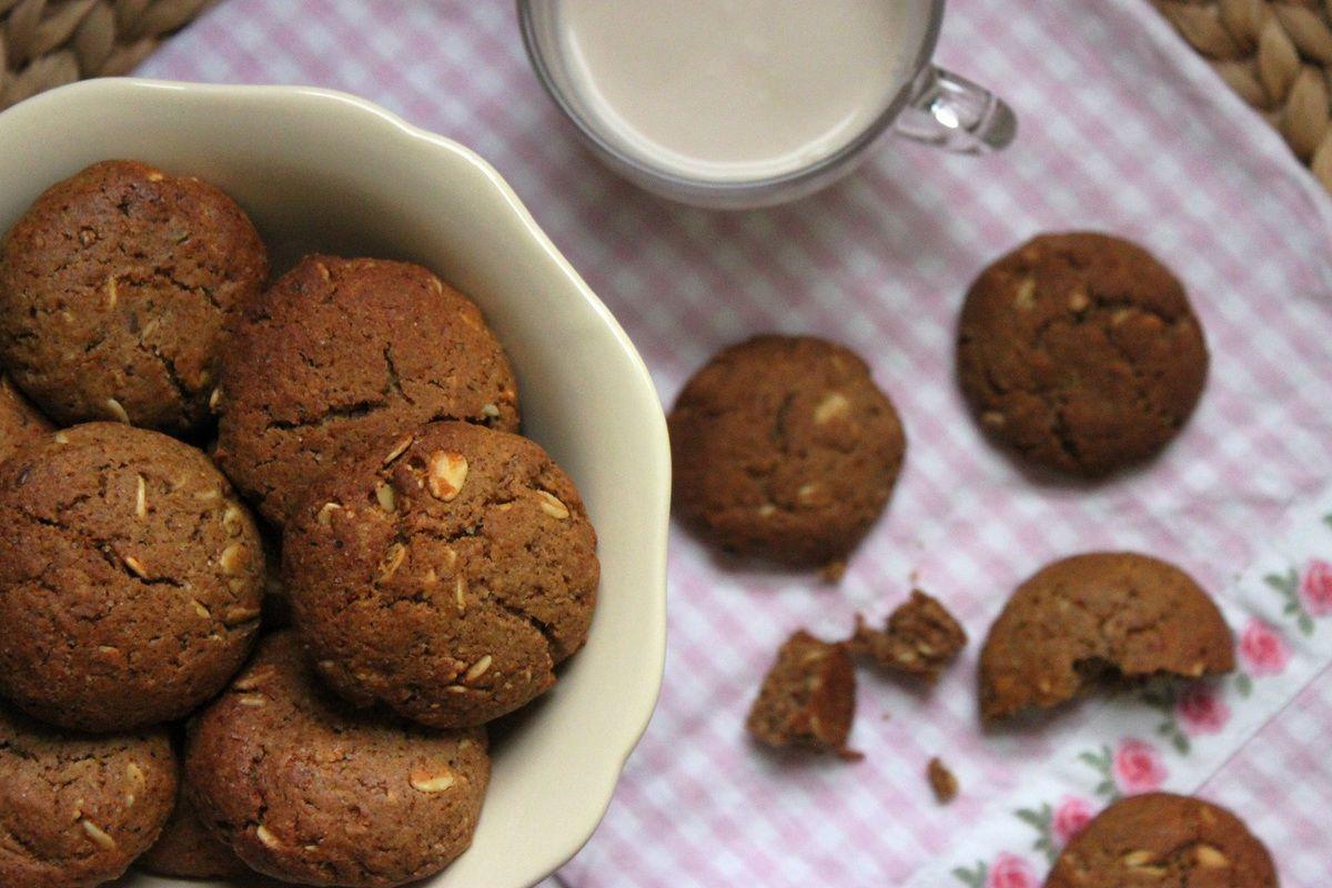 Cookies healthy au muesli (vegan) pour 1, 2, 3, Veggie !
