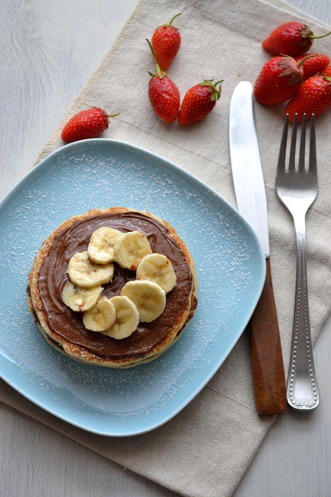 Pancakes (recette végétarienne, sans lactose)