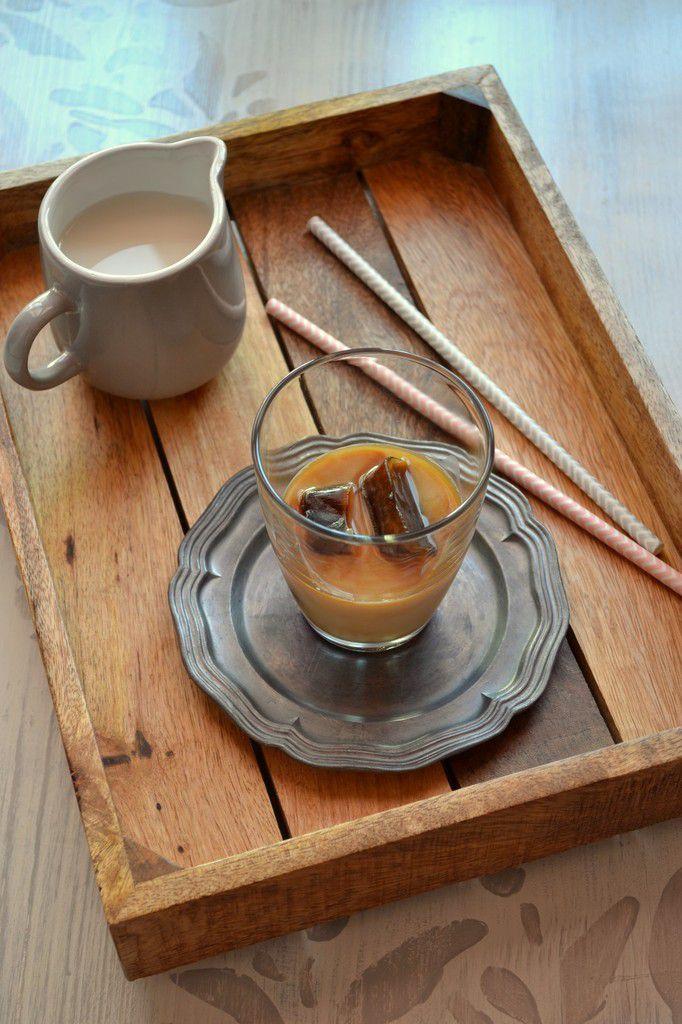 Café latte frappé (recette facile et végane)