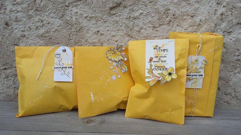 Des emballages cadeaux