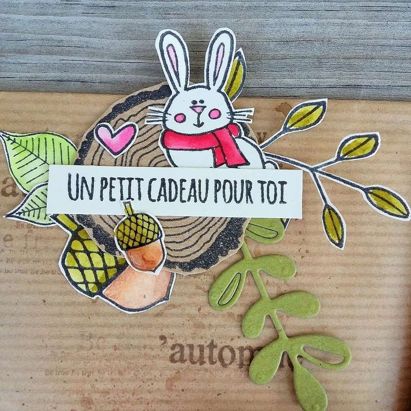 Loaded Envelope Automne * DT Cie des Elfes*