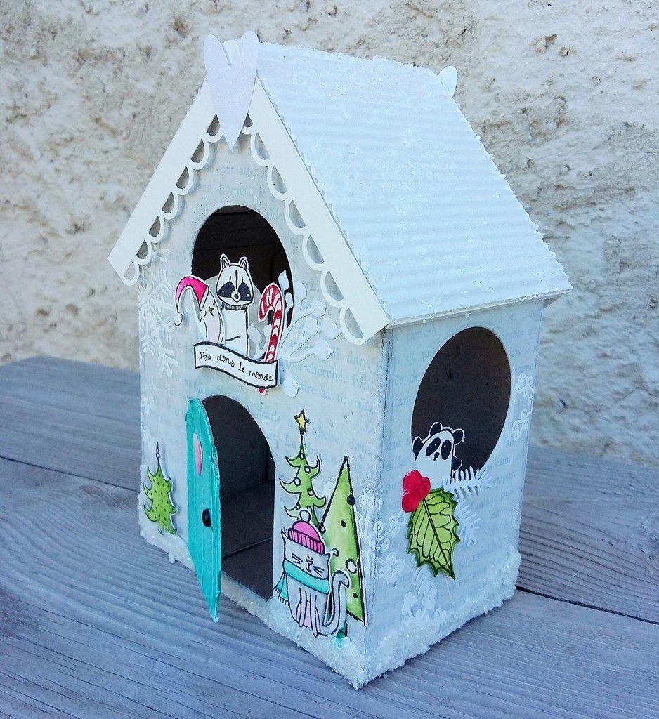 La maison de Noël * DT la Cie des Elfes *