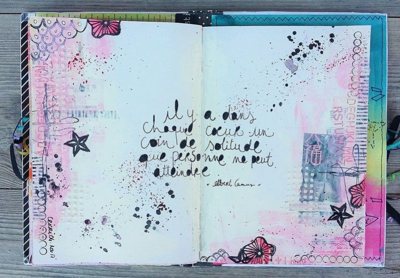 Une page de Art Journal