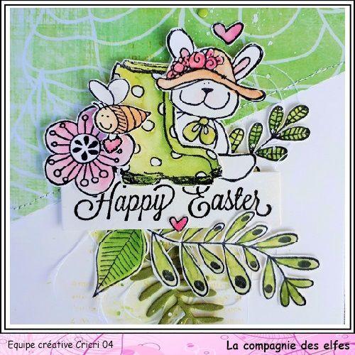 Joyeuses Pâques! * DT La Cie des Elfes *