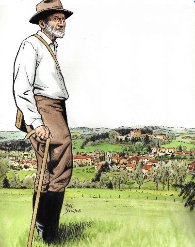 Henri Pourrat-Chronique des grands jardins . Alexandre Vialatte
