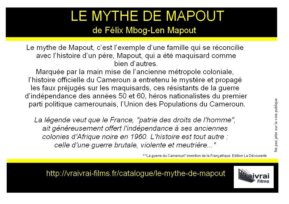 Assemblée générale et film Le mythe de Mapout