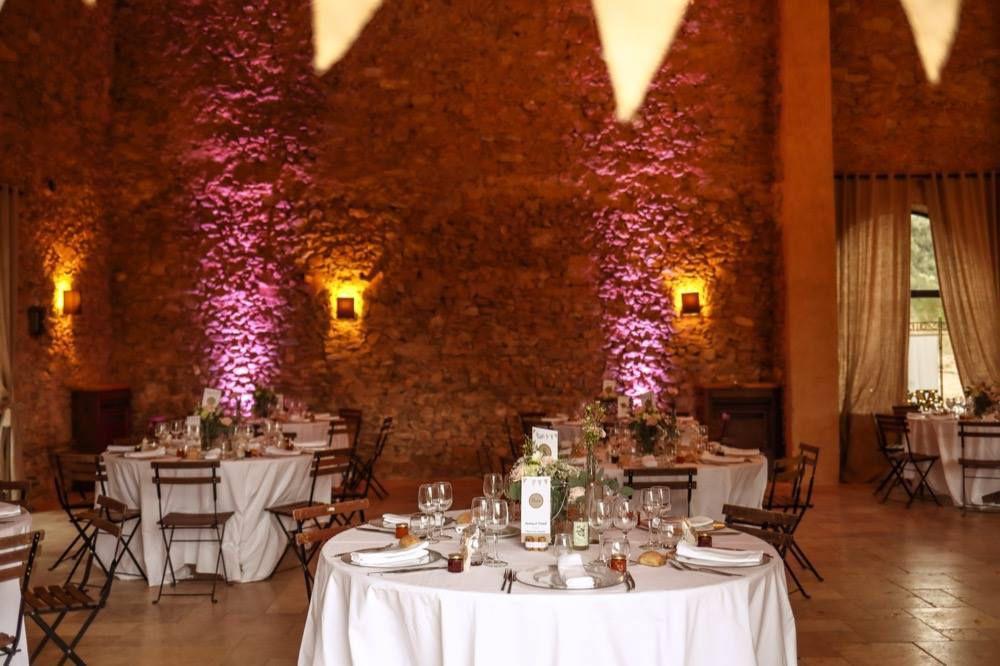 Mariage champêtre au Château Bas d'Aumelas