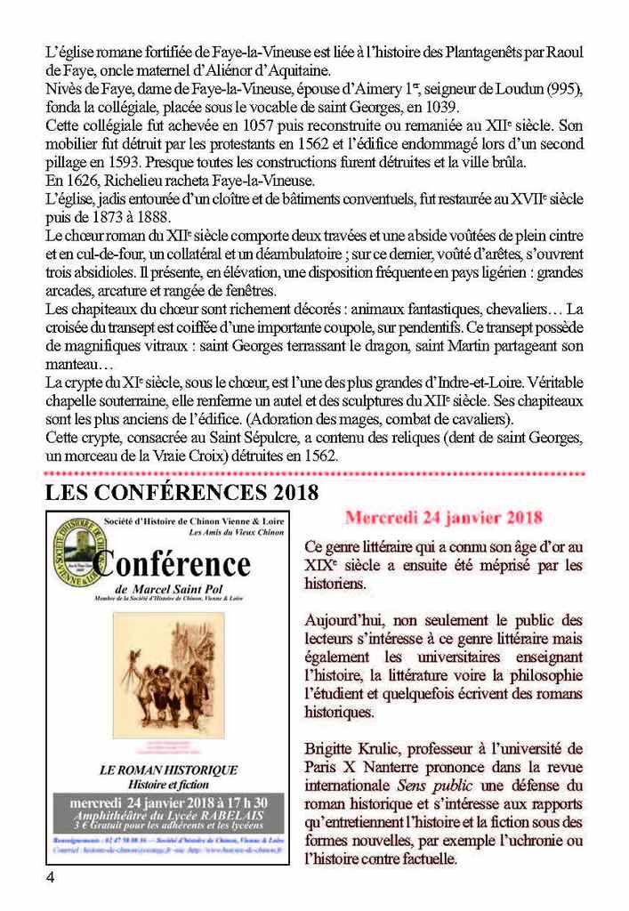 LETTRE AUX SOCIÉTAIRES PRINTEMPS-ÉTÉ 2018