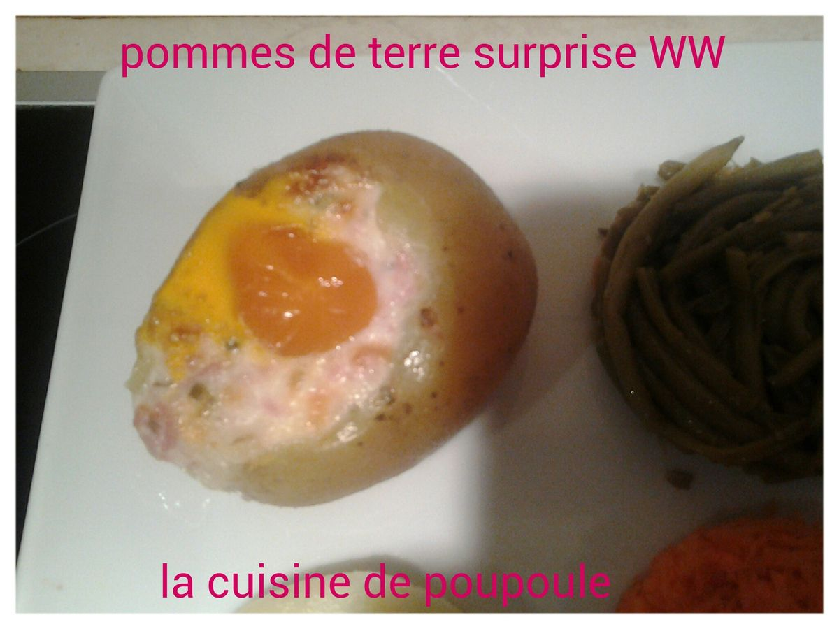 Pommes de terre surprise WW