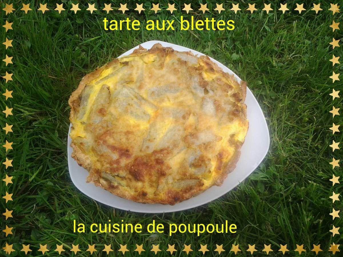 Tarte aux blettes bio au thermomix