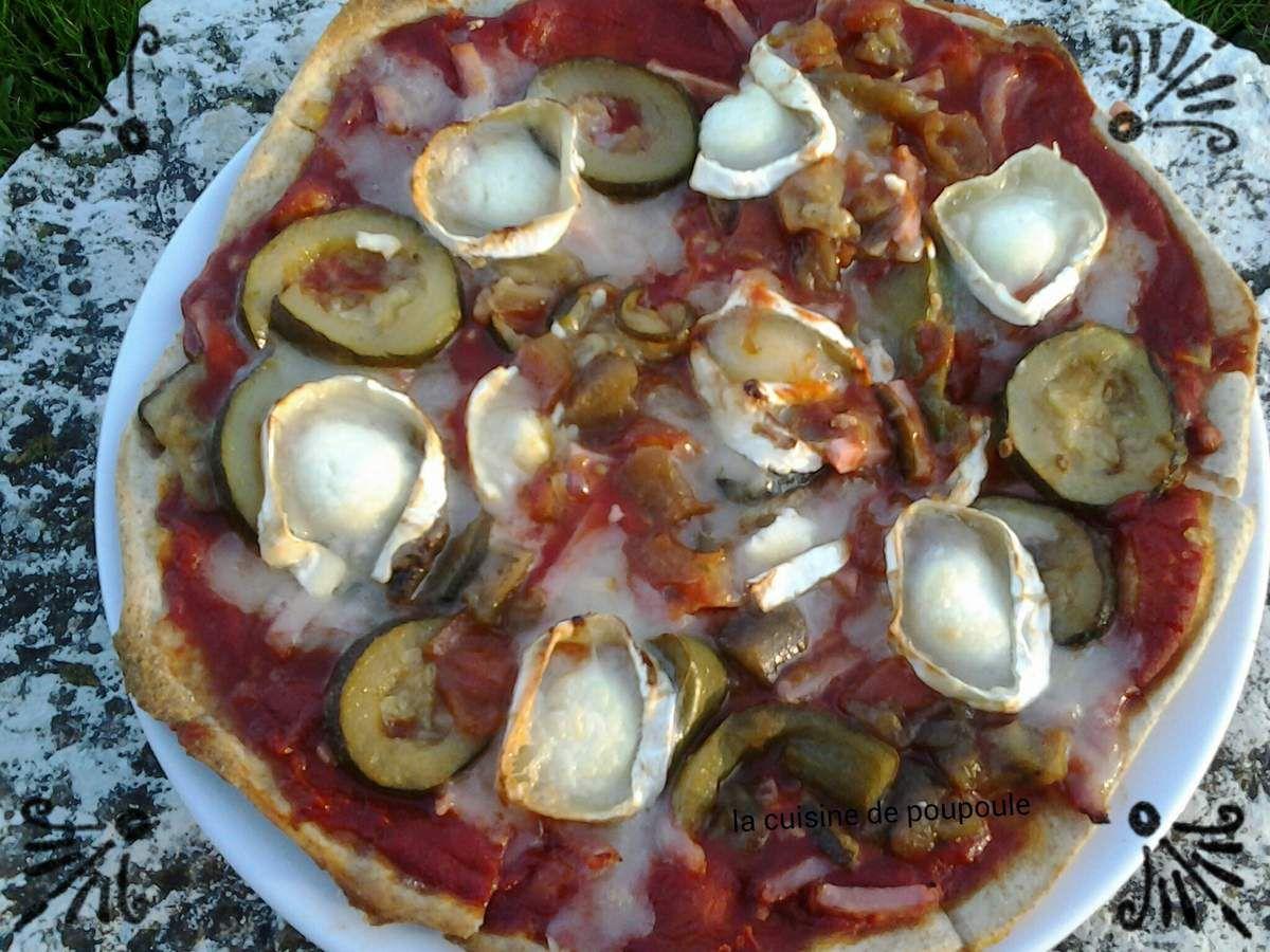 Pâte à pizza au thermomix 2