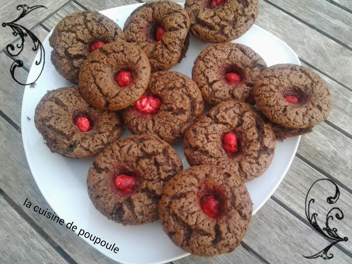 Muffins au chocolat sans gluten au thermomix ou sans