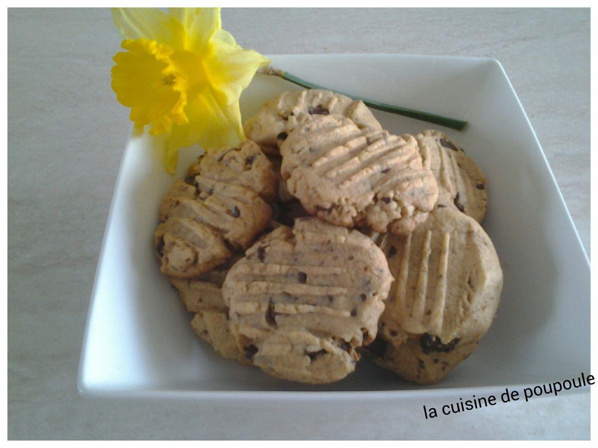 Cookies au spéculoos au thermomix ou sans