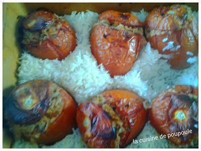 Tomate farcie au thon au thermomix ou sans