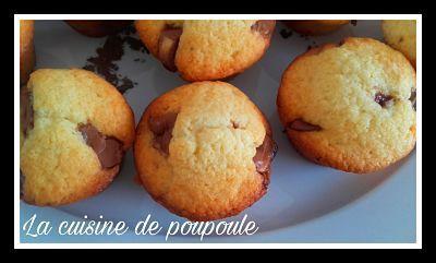 Muffins au kinder maxi au thermomix ou sans