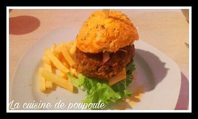 Cheeseburger 100% maison au thermomix ou sans