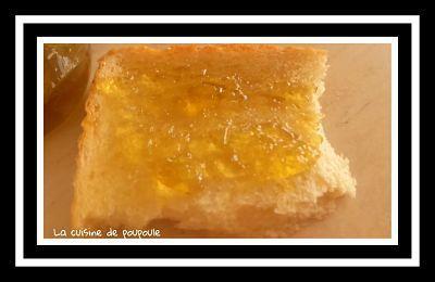 Gelée de verveine citronnée au thermomix ou sans