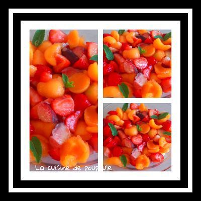 De mes nouvelles salade de fruits