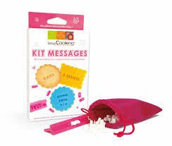 Kit message Scrapcooking