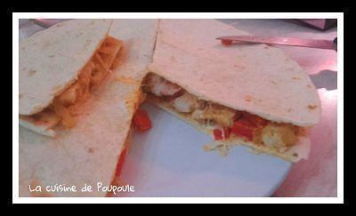 Quesadillas de poulet au thermomix ou sans
