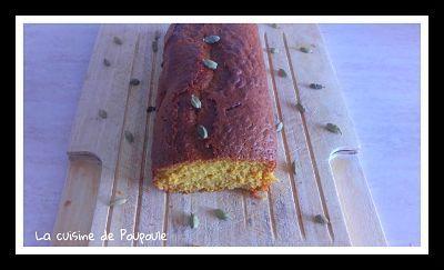 Cake à la cardamone et miel au thermomix ou sans
