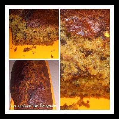 Cake rhum chocolat banane (martinique) au thermomix ou sans