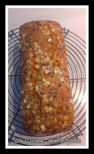 Cake/pain aux fruits secs au thermomix ou sans