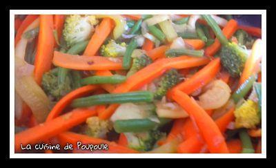Légumes à la thaï