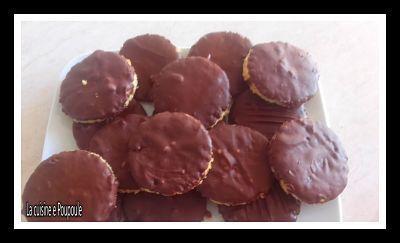 Biscuits granola maison au Kitchenaid